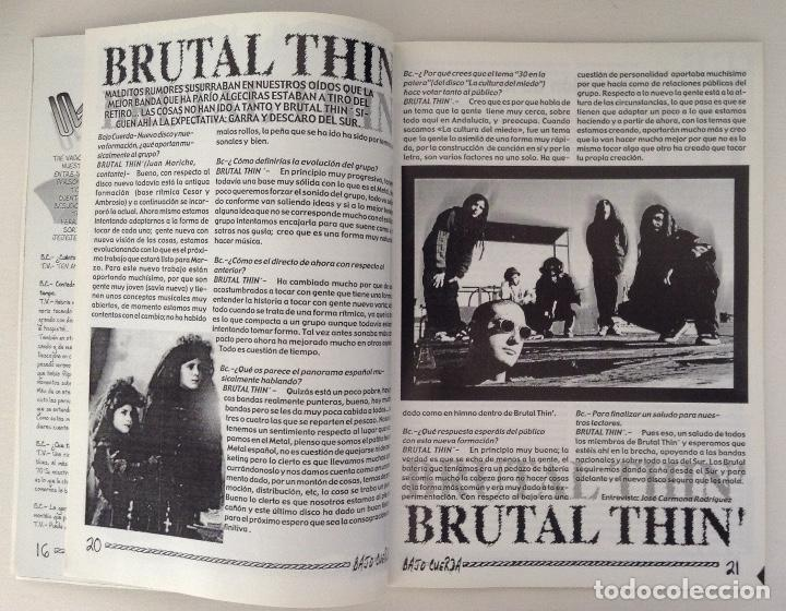 Revistas de música: Revista Bajo Cuerda 27 entrevistas Neurastenia Eyeball Crushed Ktulu Dark Faith Bocanegra - Foto 3 - 218032980