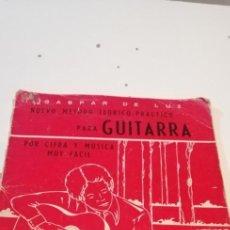 Revistas de música: C-3 LIBRO METODO DE GUITARRA - GASPAR DE LUZ. Lote 235403735