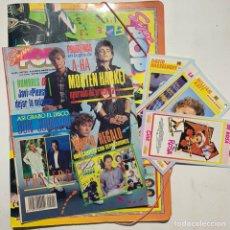 Revistas de música: REVISTA SUPER POP 221 CON CARPETA CON SEPARADORES DE REGALO Y CUATRO FICHAS. Lote 218083271