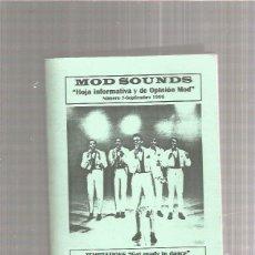 Revistas de música: MOD SOUNDS 7 (CULTURA MOD ) + REGALO SORPRESA. Lote 218087145