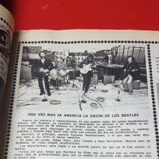 Revistas de música: ARTÍCULO UNA VEZ MÁS SE ANUNCIA LA UNIÓN DE LOS BEATLES. Lote 218105567