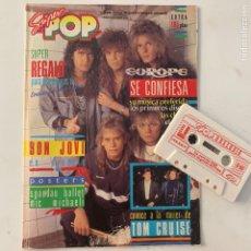 Revistas de música: REVISTA SÚPER POP 239 CON OBSEQUIO CASSETE. Lote 218106405