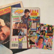 Revistas de música: REVISTA SUPER POP 222 CON MAXI PÓSTER MADONNA Y DON JOHNSON Y CUATRO ADHESIVOS. Lote 218107141