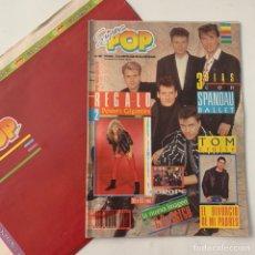 Revistas de música: REVISTA SÚPER POP 237 CON REGALO DOS PÓSTERS GIGANTES JOEY TEMPEST Y EUROPE. Lote 218108130