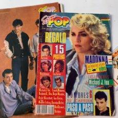 Revistas de música: REVISTA SUPER POP 224 CON REGALO PÓSTERS Y FICHA. Lote 218183301