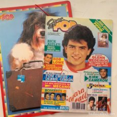 Revistas de música: REVISTA SUPER POP 285 CON CARPETA REGALO PIPPIN. Lote 218189261