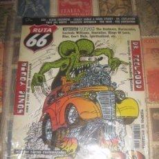 Revistas de música: RUTA 66, Nº 201 , ENERO 2004 , DR FEELGOOD, SONIC YOUTH, HOT ROD,BARRACUDAS BLUR. Lote 218205605