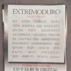 """Revistas de música: EXTREMODURO: HOJA PROMOCIONAL """" LA LEY INNATA. Lote 218326573"""