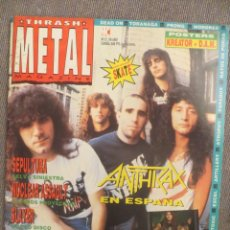 Revistas de música: THRASH METAL:NUM.12-ANTHRAX-SEPULTURA-SLAYER-DEATH ANGEL-OVERKILL-ETC... Lote 218328043