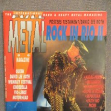 Revistas de música: FULL METAL: N.14-JUDAS PRIEST-DEEP PURPLE-OZZY-LEGION-MOTORHEAD. Lote 218328721