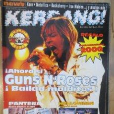 Revistas de música: KERRANG :N.73-GUNS N ROSES-DREAM THEATER-GUNS N ROSES-BARON ROJO-KTULU-IRON MAIDEN..+ POSTERS. Lote 218593465