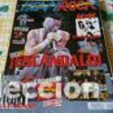 Revistas de música: HEAVY ROCK 214 - LIMP BIZKIT - EXTREMODURO - PANTERA - AC/DC - JUDAS PRIEST. Lote 218602896
