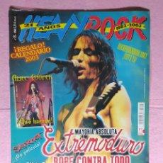 Revistas de música: MAGAZINE HEAVY ROCK 233 - ALICE COOPER - SLIPKNOT - SKA-P - SOBER - HAMLET - EXTREMODURO. Lote 218615213