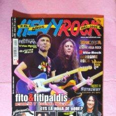 Revistas de música: MAGAZINE HEAVY ROCK 294 - HALFORD - METALLICA - EXTREMODURO- POSTER ROCKFERENDUM. Lote 218693801