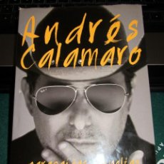 Revistas de música: LIBRO ANDRES CALAMARO PARACAIDAS Y VUELTAS DIARIOS INTIMOS LIBROS CUPULA. Lote 253133505