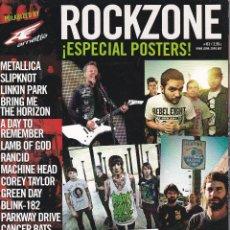 Revistas de música: REVISTA ROCKZONE ¡ESPECIAL POSTERS'. Lote 219089826