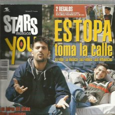 Revistas de música: STARS MUSICA YOU ESTOPA. Lote 220872708