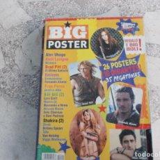 Revistas de música: REVISTA BIG POSTER Nº 1, 26 POSTERS 10 GIGANTES, 2 SHAKIRA GIGANTES,2 BRAD PITT GIGANTES,BEYONCE GIG. Lote 220948652