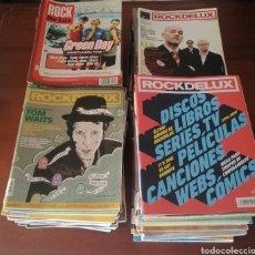 Revistas de música: GRAN SÚPER LOTE DE 129 REVISTAS ROCKDELUX AÑOS 80, 90, 00, 10 Y 20 ROCK DE LUX SUELTAS PREGUNTAR. Lote 220997173