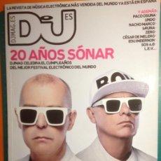 Revistas de música: DJ MAG VOL.4 Nº29 JUNIO 2013 - 20 AÑOS SONAR - PET SHOP BOYS - ANGEL MOLINA - KARL HYDE - PACO OSUNA. Lote 221142450