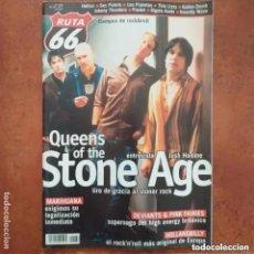 Revistas de música: RUTA 66 NUM 169 QUEENS OF THE STONE AGE MARIHUANA DEVIANTS PINK FAIRIES HOLLANDBILLY HEFNER. Lote 221243360