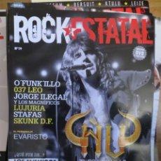 Revistas de música: ROCK ESTATAL.NUM.19-ÑU-MORFI GREI-SKA.P-LOS ENEMIGOS-MEDINA AZAHARA-ILEGALES-LOS SUAVES-SOBER. Lote 221293315