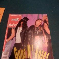 Revistas de música: GUNS N' ROSES - POPULAR 1 ESPECIAL Nº 122 - CON EL POSTER. Lote 221329680