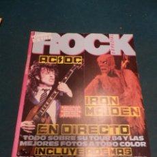 Revistas de música: ROCK ESPEZIAL EXTRA Nº 17 - AC/DC - IRON MAIDEN- COMPLETA CON POSTER, CARETAS Y PEGATINAS. Lote 221333270