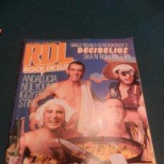 Revistas de música: ROCK DE LUX Nº 24 NOV. 1986 (DECIBELIOS-NEIL YOUNG-IGGY POP-STING-PARALISIS PERMANENTE-OBÚS.... Lote 221335362