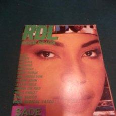 Revistas de música: ROCK DE LUX Nº 16 FEB. 1986 (SADE-RUSH-QUEEN-BURNING-MADONNA-PHIL LYNNOT-ROCK RADICAL VASCO... Lote 221335841