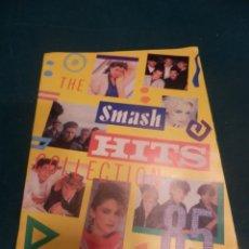 Revistas de música: THE SMASH HITS COLLECTION 85 - ALBUM DE CROMOS INGLÉS - INCOMPLETO - CON EL DE DAVID BOWIE. Lote 221338330