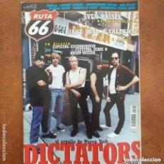 Revistas de música: RUTA 66 NUM 177 DICTATORS GIANT SAND CALEXICO NEBULA COWBOY JUNKIES DYLAN. Lote 221476417