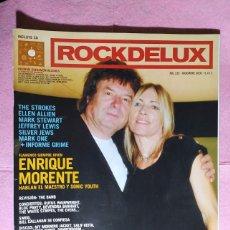 Revistas de música: MAGAZINE ROCKDELUX 235 - ENRIQUE MORENTE - THE STROKES - JEFFREY LEWIS -MARK ONE - SILVER JEWS. Lote 221579673