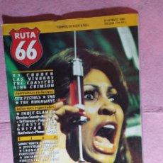 Revistas de música: MAGAZINE RUTA 66 Nº 84 - THE RUNAWAYS - SEX PISTOLS - KING CRIMSON - COASTERS. Lote 221663635