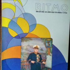 Revistas de música: RITMO Nº 462 D 1976- RICARDO VILLA- BANDAS DE MUSICA- ROSTROPOVICH- ERNANDO RODRIGUEZ DEL RIO- OPERA. Lote 221703047