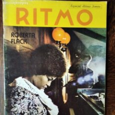 Revistas de música: RITMO Nº 431 1973- ROBERTA FLACK- MIGUEL RIOS- JUAN PARDO- ARAXES- MARI TRINI- ANA Mª DRACK HENDRIX. Lote 221748480