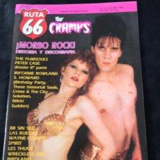 Revistas de música: RUTA 66 - N 44 (OCTUBRE 1989). Lote 221865895