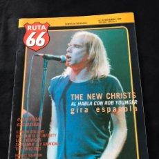 Revistas de música: RUTA 66 - N 45 ( NOVIEMBRE 1989). Lote 221866140