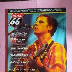 Revistas de música: MAGAZINE RUTA 66 Nº 253 - CALEXICO - PAUL WELLER - NEIL DIAMOND - SOLOMON BURKE. Lote 221884916