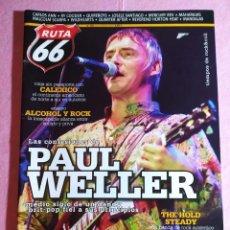 Revistas de música: MAGAZINE RUTA 66 Nº 253 - CALEXICO - PAUL WELLER - NEIL DIAMOND - SOLOMON BURKE. Lote 221885421