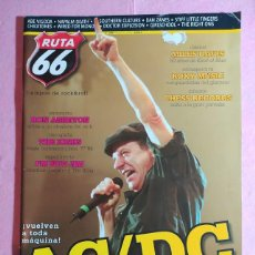 Revistas de música: MAGAZINE RUTA 66 Nº 258 - AC/DC - RON ASHETON - THE KINKS - ROXY MUSIC - NAPALM DEATH. Lote 221887398