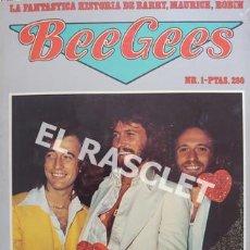 Revistas de música: FANTASTICA HISDTORIA - BEEGEES - BARRY, MAURICE, ROBIN - NR-1 - AÑO 1979 -. Lote 221915450