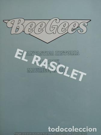 Revistas de música: FANTASTICA HISDTORIA - BEEGEES - BARRY, MAURICE, ROBIN - NR-1 - AÑO 1979 - - Foto 2 - 221915450