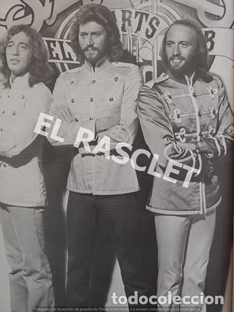 Revistas de música: FANTASTICA HISDTORIA - BEEGEES - BARRY, MAURICE, ROBIN - NR-1 - AÑO 1979 - - Foto 8 - 221915450