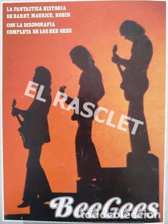 Revistas de música: FANTASTICA HISDTORIA - BEEGEES - BARRY, MAURICE, ROBIN - NR-1 - AÑO 1979 - - Foto 10 - 221915450