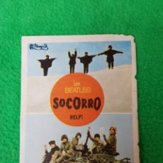 Revistas de música: THE BEATLES PROGRAMA DE MANO FILM HELP! 1966 ESPAÑA OPORTUNIDAD COLECCIONISTAS. Lote 221919192
