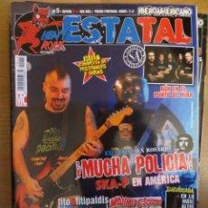 Revistas de música: HEAVY ROCK ESTATAL:N.5-SKA.P-ASFALTO-FITO & FITIPALDIS-BARRICADA-MEDINA AZAHARA-MAGO DE OZ. Lote 221932867
