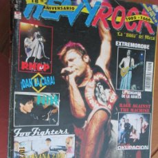 Revistas de música: HEAVY ROCK REVISTA Nº 195 -1999 - IRON MAIDEN - NIRVANA - EXTREMOROBE - LA VENGANZA DE LA ABUELA. Lote 221934638