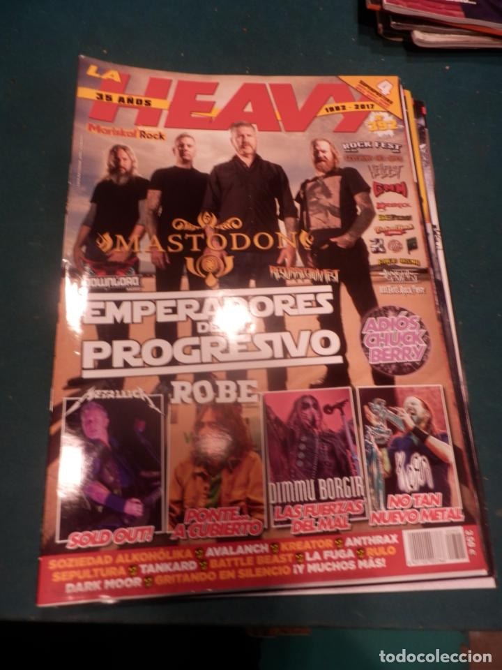 Revistas de música: METAL HAMMER Nº 371 - 372 - 376 - 377 + LA HEAVY Nº 392 - LOTE 5 REVISTAS - Foto 2 - 222051527