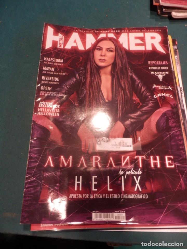 Revistas de música: METAL HAMMER Nº 371 - 372 - 376 - 377 + LA HEAVY Nº 392 - LOTE 5 REVISTAS - Foto 3 - 222051527